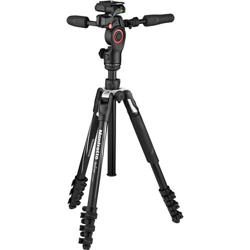 Штатив Manfrotto Befree 3-Way Live Advanced (MKBFRLA4BK-3W)- фото