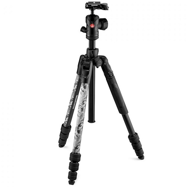 Штатив Manfrotto Befree Advanced Camo Rock Grey Travel (MKBFRTA4CAM2-BH)- фото