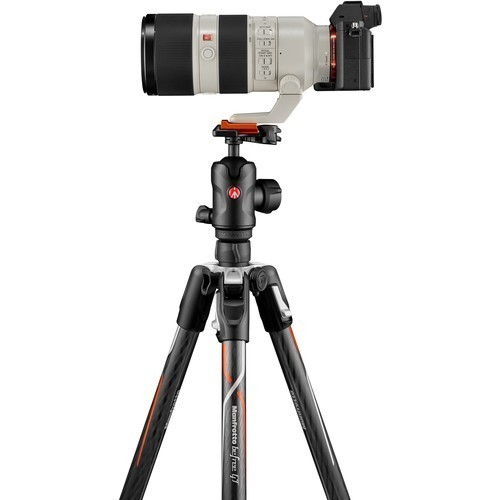Штатив Manfrotto Befree GT Carbon for Sony Alpha (MKBFRTC4GTA-BH)- фото5