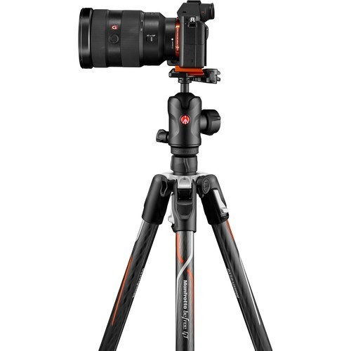 Штатив Manfrotto Befree GT Carbon for Sony Alpha (MKBFRTC4GTA-BH)- фото4