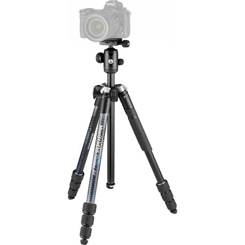Штатив Manfrotto Element MII Aluminium Black (MKELMII4BK-BH)- фото
