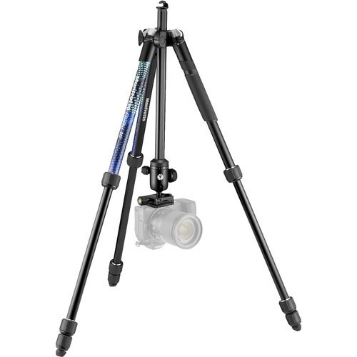 Штатив Manfrotto Element MII Aluminium Blue (MKELMII4BL-BH)- фото2