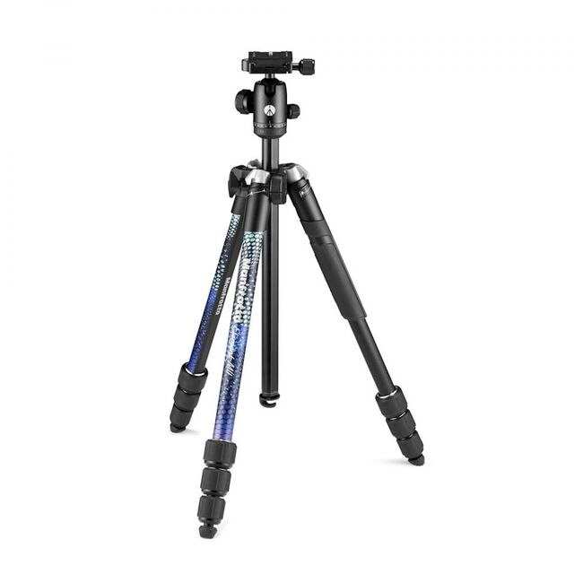 Штатив Manfrotto Element MII Aluminium Blue (MKELMII4BL-BH)- фото3