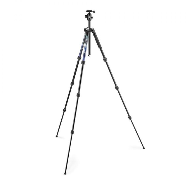 Штатив Manfrotto Element MII Aluminium Blue (MKELMII4BL-BH)- фото4