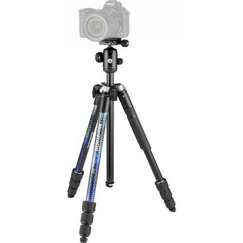 Штатив Manfrotto Element MII Aluminium Blue (MKELMII4BL-BH)- фото