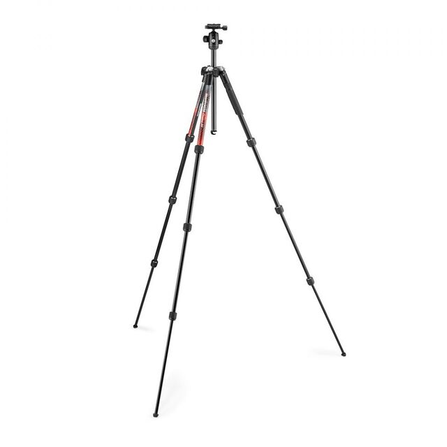 Штатив Manfrotto Element MII Aluminium Red (MKELMII4RD-BH)- фото5