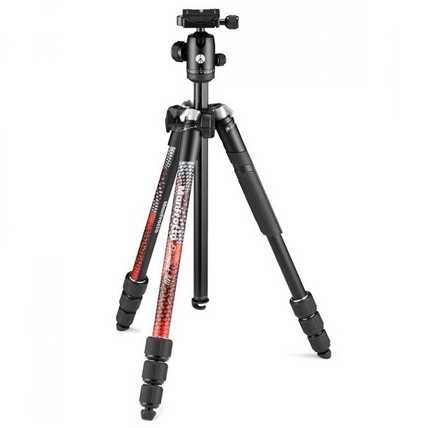 Штатив Manfrotto Element MII MobBT Red (MKELMII4RMB-BH)- фото