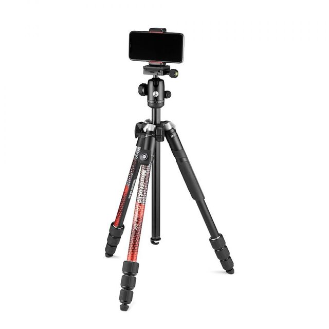 Штатив Manfrotto Element MII MobBT Red (MKELMII4RMB-BH)- фото3