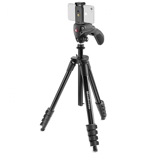 Штатив Manfrotto Compact Action Smart (MKSCOMPACTACNBK), Black
