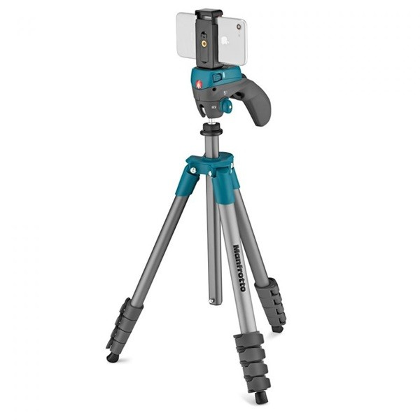 Штатив Manfrotto Compact Action Smart (MKSCOMPACTACNBL), Blue