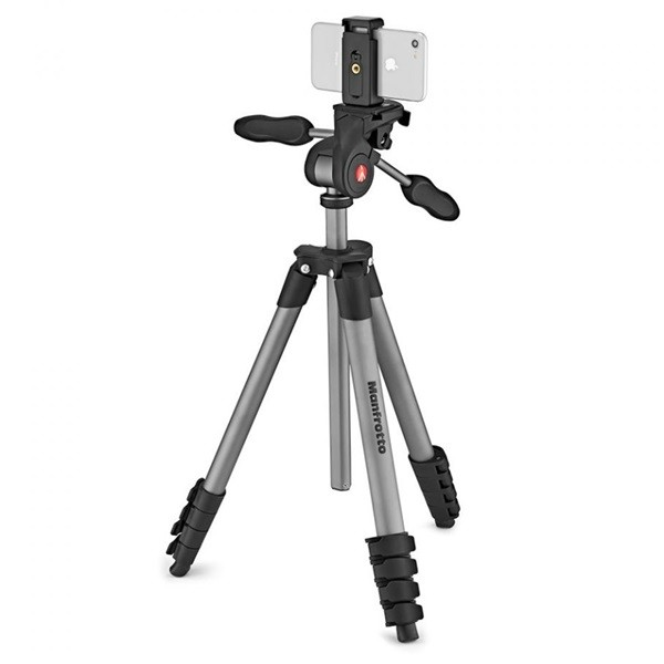 Штатив Manfrotto Compact Advanced Smart (MKSCOMPACTADVBK), Black