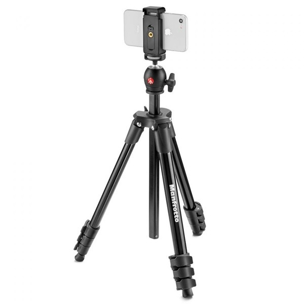 Штатив Manfrotto Compact Light Smart (MKSCOMPACTLTBK), Black