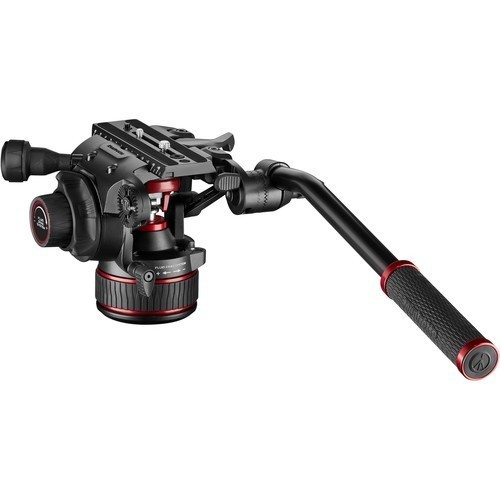 Штатив Manfrotto Nitrotech 608 & Aluminium Twin GS (MVK608TWINGA)- фото6
