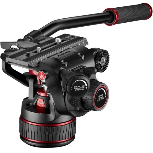 Штатив Manfrotto Nitrotech 608 & Aluminium Twin GS (MVK608TWINGA)- фото4