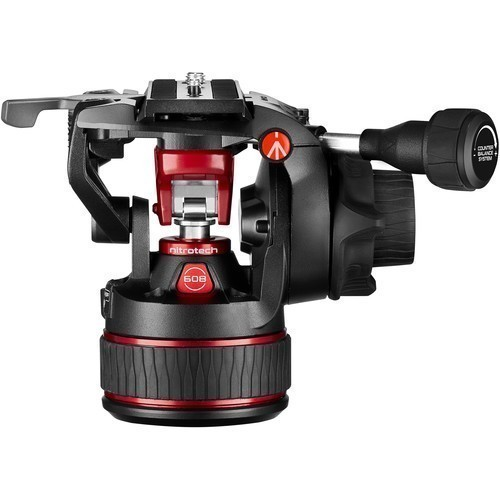 Штатив Manfrotto Nitrotech 608 & Aluminium Twin GS (MVK608TWINGA)- фото2