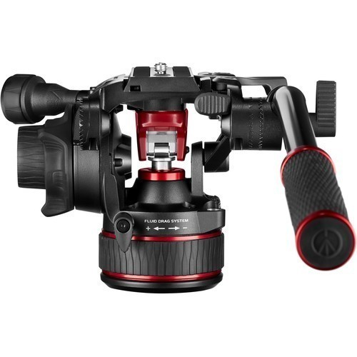 Штатив Manfrotto Nitrotech 608 & Aluminium Twin GS (MVK608TWINGA)- фото3