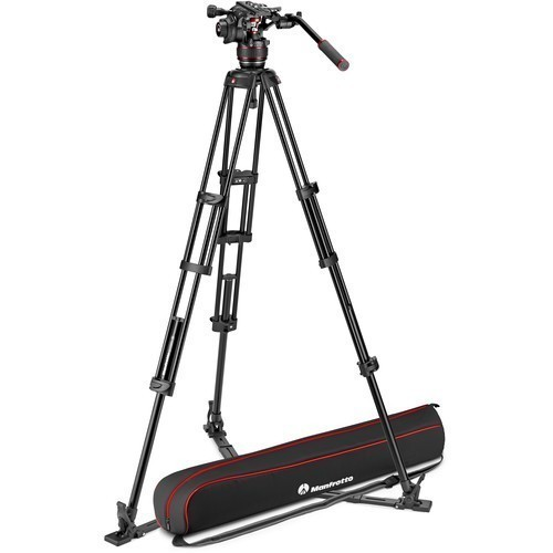 Штатив Manfrotto Nitrotech 608 & Aluminium Twin GS (MVK608TWINGA)- фото