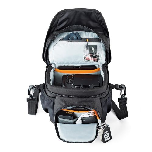 Сумка Lowepro Nova 140 AW II Black- фото6