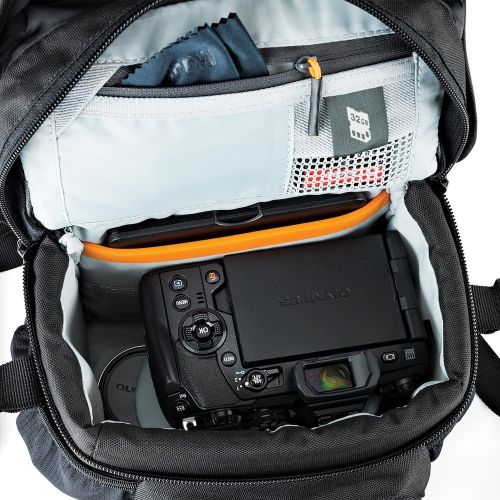Сумка Lowepro Nova 140 AW II Black- фото4