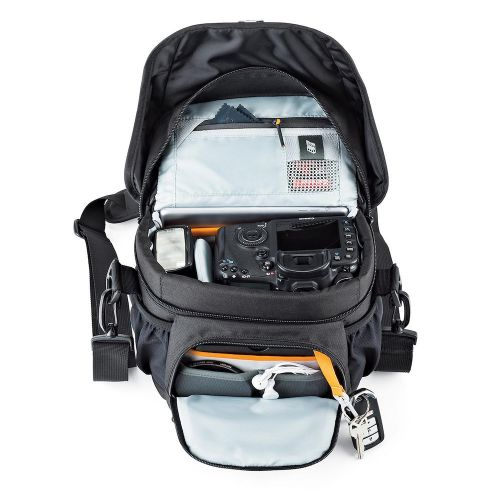 Сумка Lowepro Nova 160 AW II Black- фото6