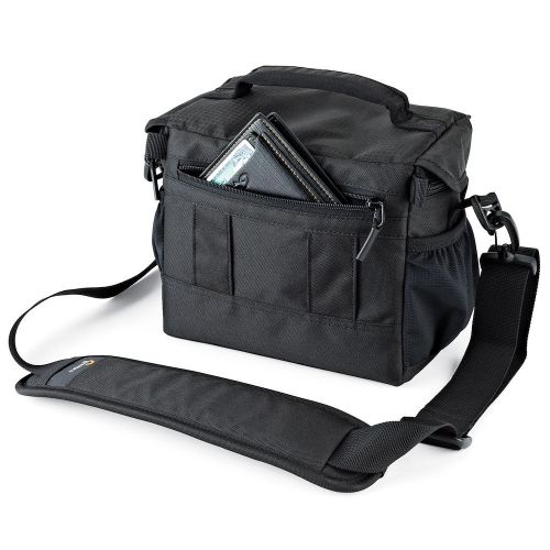 Сумка Lowepro Nova 160 AW II Black- фото5