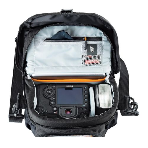 Сумка Lowepro Nova 170 AW II Black- фото4
