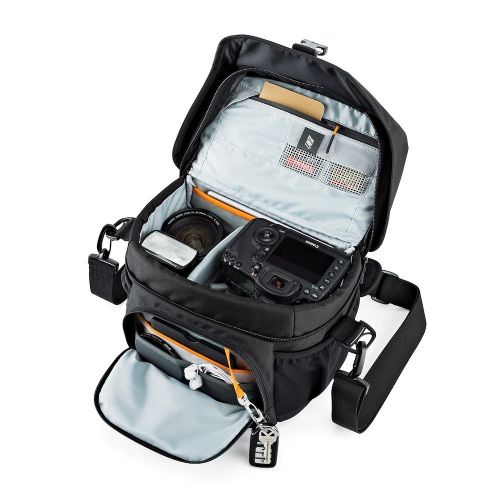 Сумка Lowepro Nova 180 AW II Black - фото6