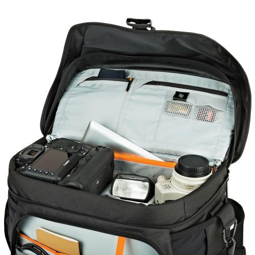 Сумка Lowepro Nova 200 AW II Black- фото5