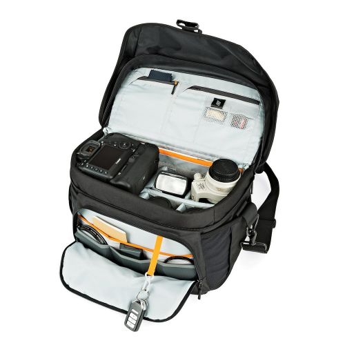Сумка Lowepro Nova 200 AW II Black- фото4
