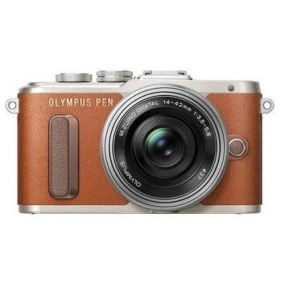 Olympus PEN E-PL8 Kit 14-42mm EZ Brown