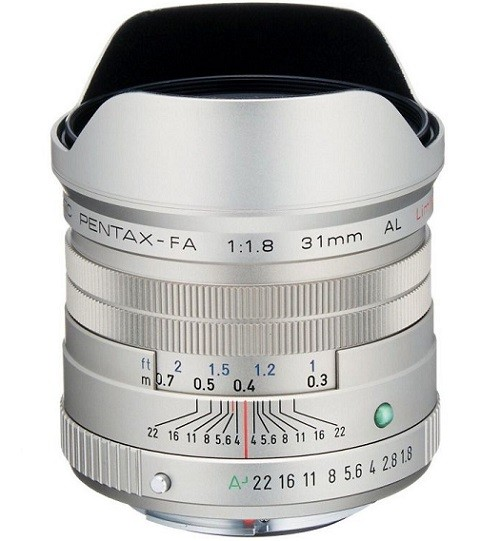 Pentax SMC FA 31mm f/1.8 AL Limited Silver