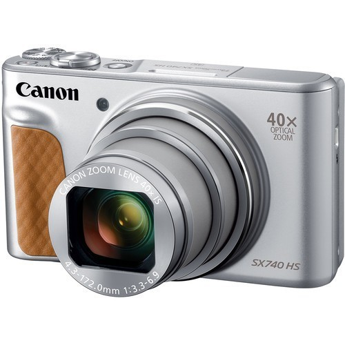 Canon PowerShot SX740 HS Silver- фото7