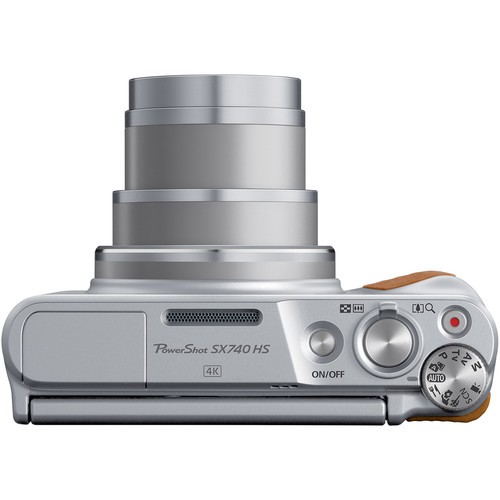 Canon PowerShot SX740 HS Silver- фото5