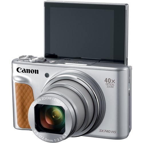 Canon PowerShot SX740 HS Silver- фото3