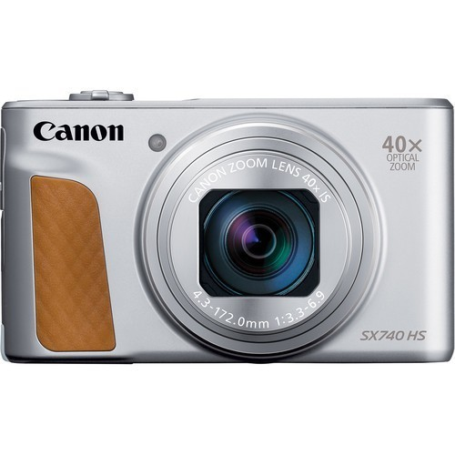 Canon PowerShot SX740 HS Silver- фото
