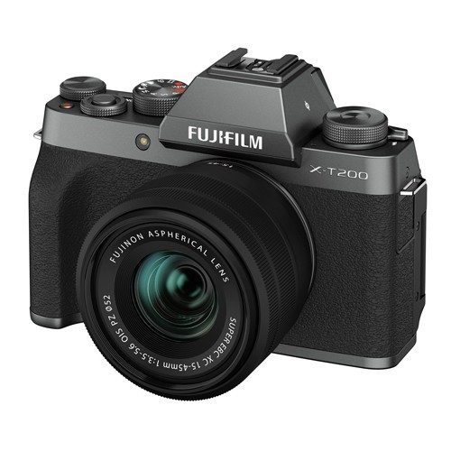 Fujifilm X-T200 Kit 15-45mm Dark Silver- фото3