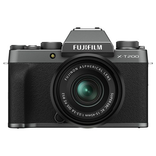 Fujifilm X-T200 Kit 15-45mm Dark Silver- фото