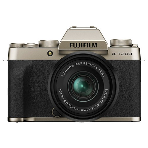 Fujifilm X-T200 Kit 15-45mm Gold- фото