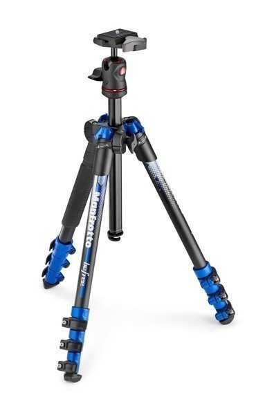 Штатив Manfrotto Befree Color Aluminium (MKBFRA4BL-BH), Blue
