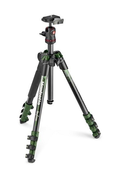 Штатив Manfrotto Befree Color Aluminium (MKBFRA4GR-BH), Green