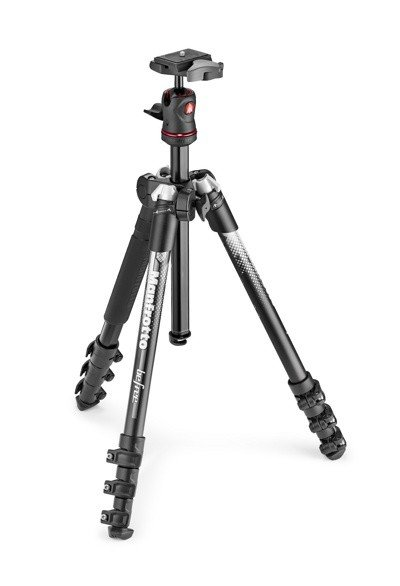 Штатив Manfrotto Befree Color Aluminium (MKBFRA4GY-BH), Grey