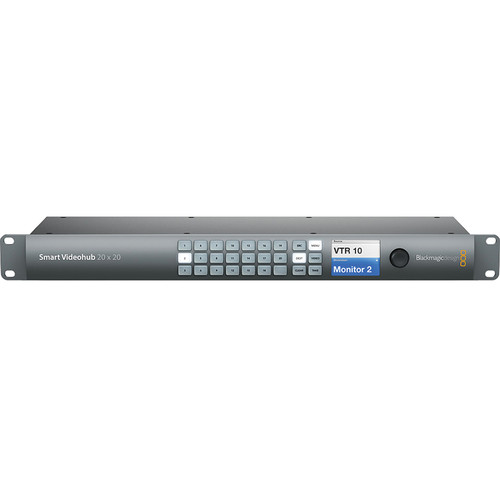Коммутатор Blackmagic Smart Videohub 20x20- фото