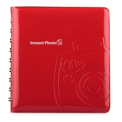 Фотоальбом Instax Mini Album Red, 64 фото