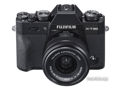 Fujifilm X-T30 Kit 15-45mm Black- фото2