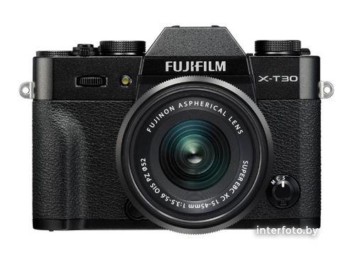 Fujifilm X-T30 Kit 15-45mm Black- фото
