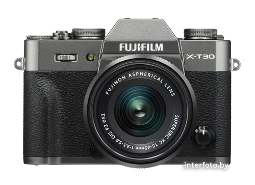 Fujifilm X-T30 Kit 15-45mm Charcoal Silver