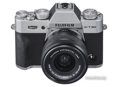 Fujifilm X-T30 Kit 15-45mm Silver- фото2