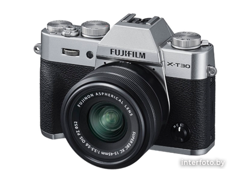 Fujifilm X-T30 Kit 15-45mm Silver- фото4