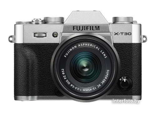 Fujifilm X-T30 Kit 15-45mm Silver- фото
