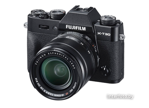 Fujifilm X-T30 Kit 18-55mm Black- фото2